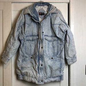 Incredible 1980s Andy John stonewash Jean jacket